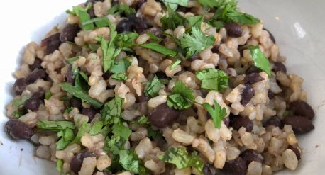 Cumin-Cilantro Beans and Rice
