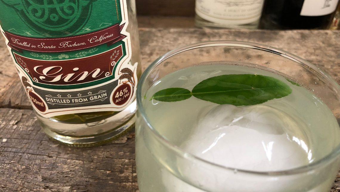 Makrut Gin and Tonic
