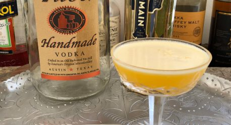 Passionfruit and Elderflower Cocktail