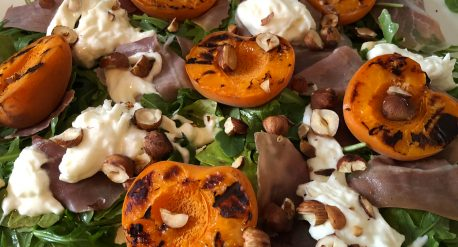 Grilled Apricot Burrata Salad (PHAAB)