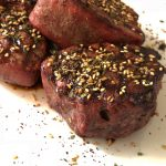Grilled Steak with Za'atar