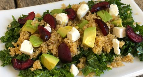 Flipping Delicious Kale Quinoa Salad
