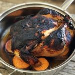 Smoky Miso Rubbed Roast Chicken