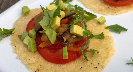 Spicy Eggplant Tacos