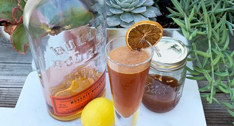 Kentucky Cinnamon Cider Cocktail
