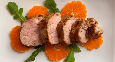 Cumin Mustard Pork Tenderloin