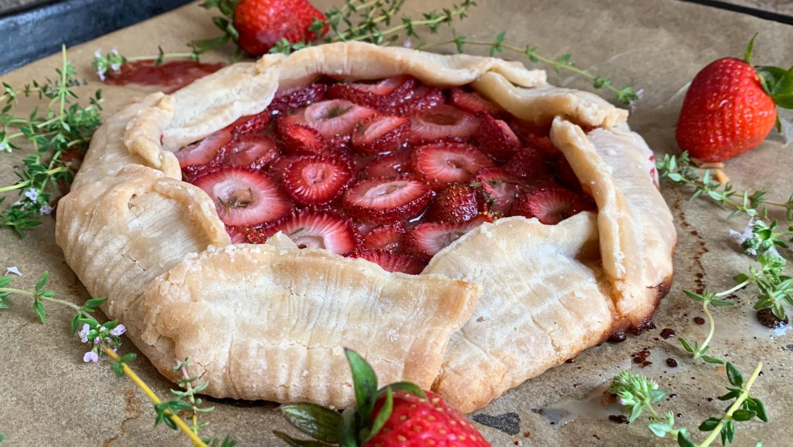 Strawberry Thyme Galette