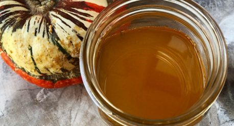 Roasted Squash Simple Syrup