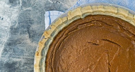 Maple Bourbon Kabocha Pie